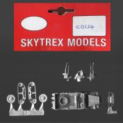 Skytrex 15mm CD224 WWII US M16 Half-Track Quad SPAAG